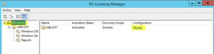 23 License Server - Configuration Review