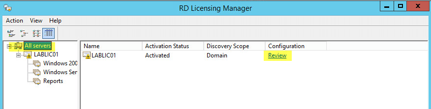 23 License Server - Configuration Review