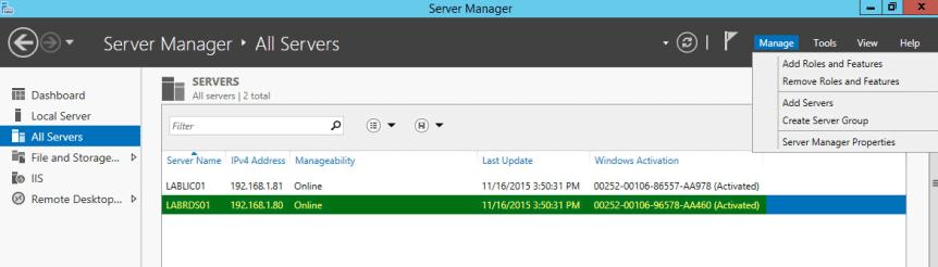 RD Gateway - Server Pool