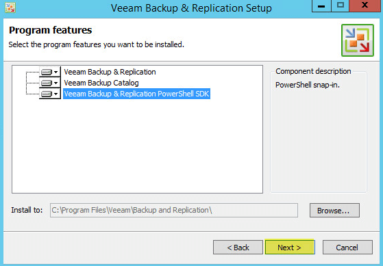 Veeam Backup 6 - Program Features