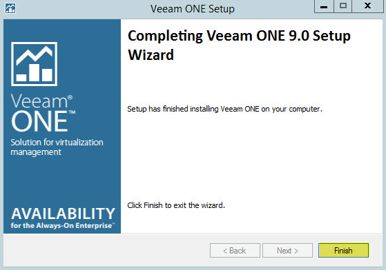 Veeam ONE 11 - Upgrade Complete
