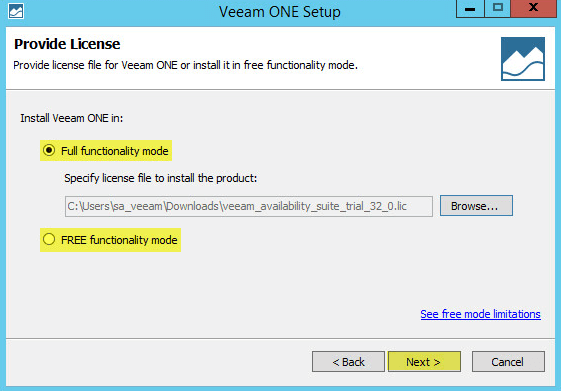 Veeam ONE 4 - Provide License