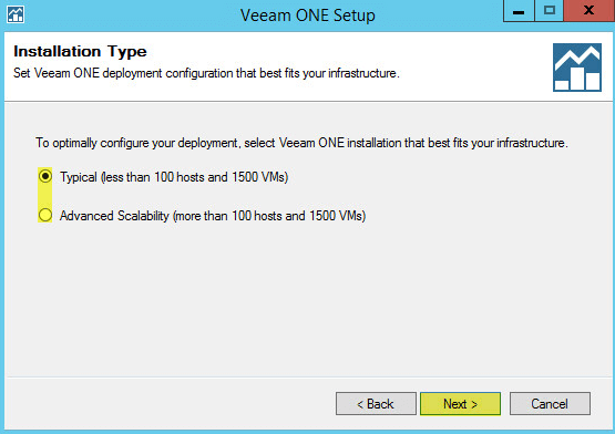 Veeam ONE 9 - Installation Type