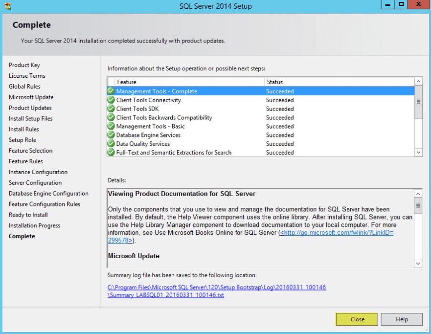 Microsoft SQL 2014 12 - Complete