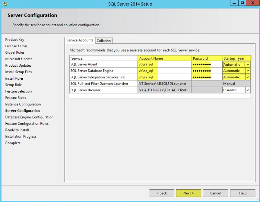 Microsoft SQL 2014 9 - Server Configuration