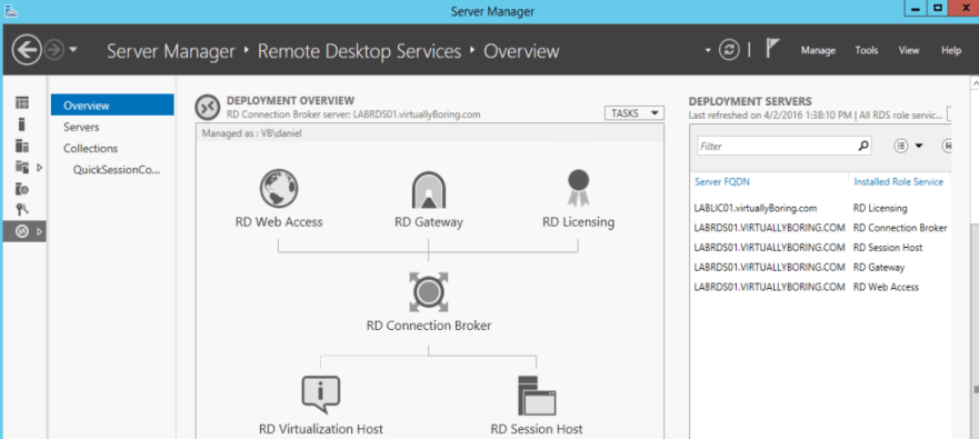 Add RDS Server to View 7 - 1 RDS Overview