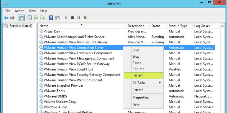 VMware Horizon View 7: Apply SSL Certificates [Part 2] - VirtuallyBoring