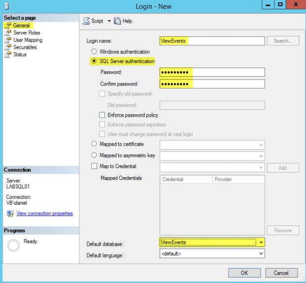 VMware Horizon View 7: Create Events Database [Part 3] - VirtuallyBoring
