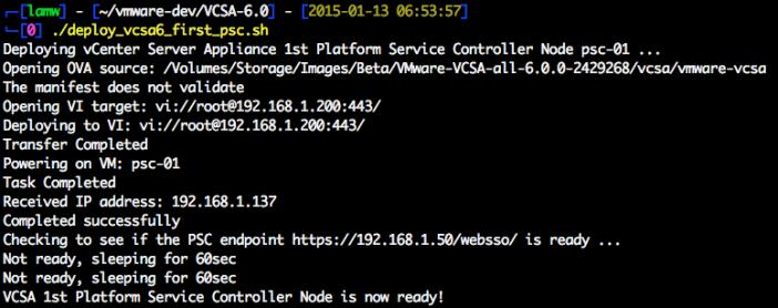 vcsa-6.0-platform-service-controller-node-deployment