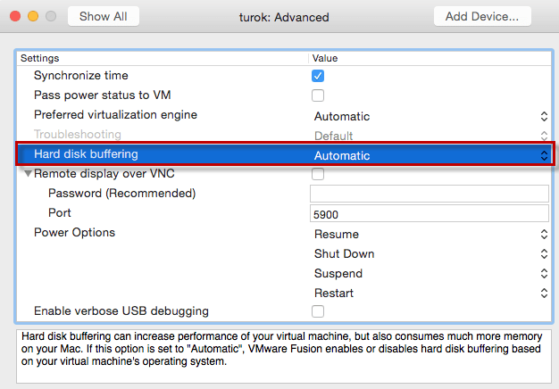 Vmware fusion how much ram do i need for host machines