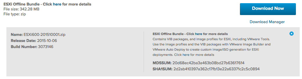 Upgrading ESXi itself is now possible with the new Embedded
