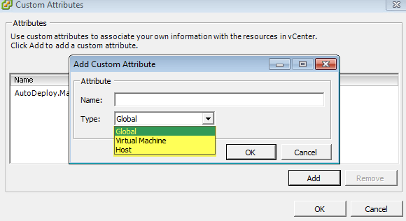 Applying Custom Attributes beyond just Host & Virtual