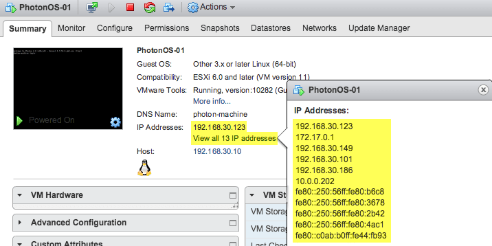 VMware Tools 10 2 0 enables Virtual Machine vNIC exclusion