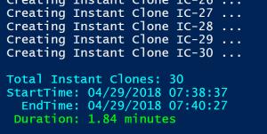 New Instant Clone Architecture in vSphere 6 7 – Part 2