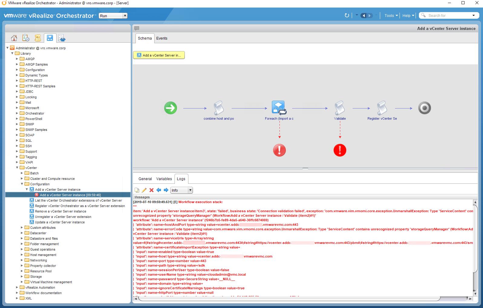 Configuring Standalone vRealize Orchestrator with VMware