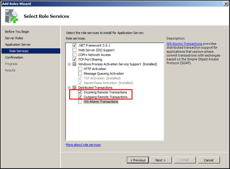 Installing SQL Server 2008 R2 on a Failover Cluster using