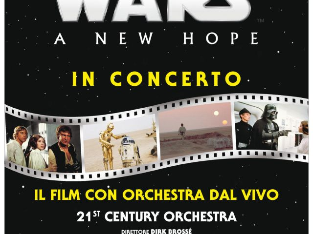 """STAR WARS – A new hope"""" IN CONCERTO"""