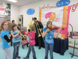 "Stevens Street School of Performing Arts ""Petting Zoo"", an alternative to the band/orchestra instrument selection programs offered by most public schools."