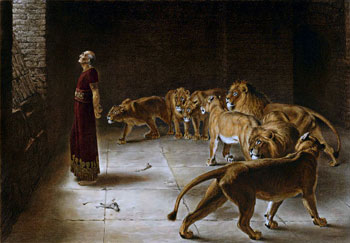 Sermon notes: Daniel in the Den of Lions
