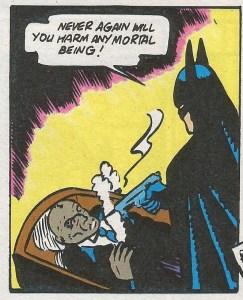 Batman Destroys the Monk
