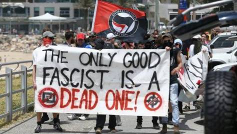 """And anybody who disagrees with us is a fascist!"""