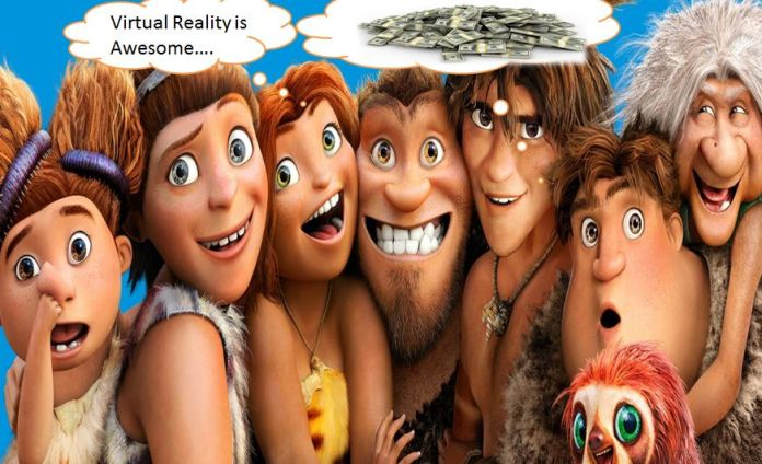 virtual reality money