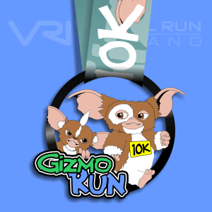 Gizmo 10K Virtual Run, virtual gizmo medals, virtual, gizmo, run, medal, challenge. virtual run Ireland medal, virtual run ireland, virtual running ireland, virtual medal, virtual run