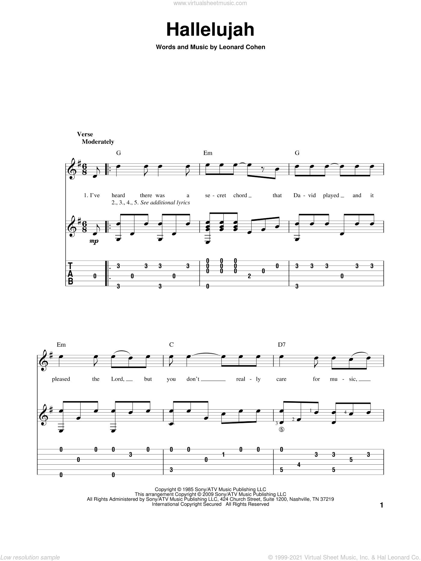 By Jeff Buckley Hallelujah Chords