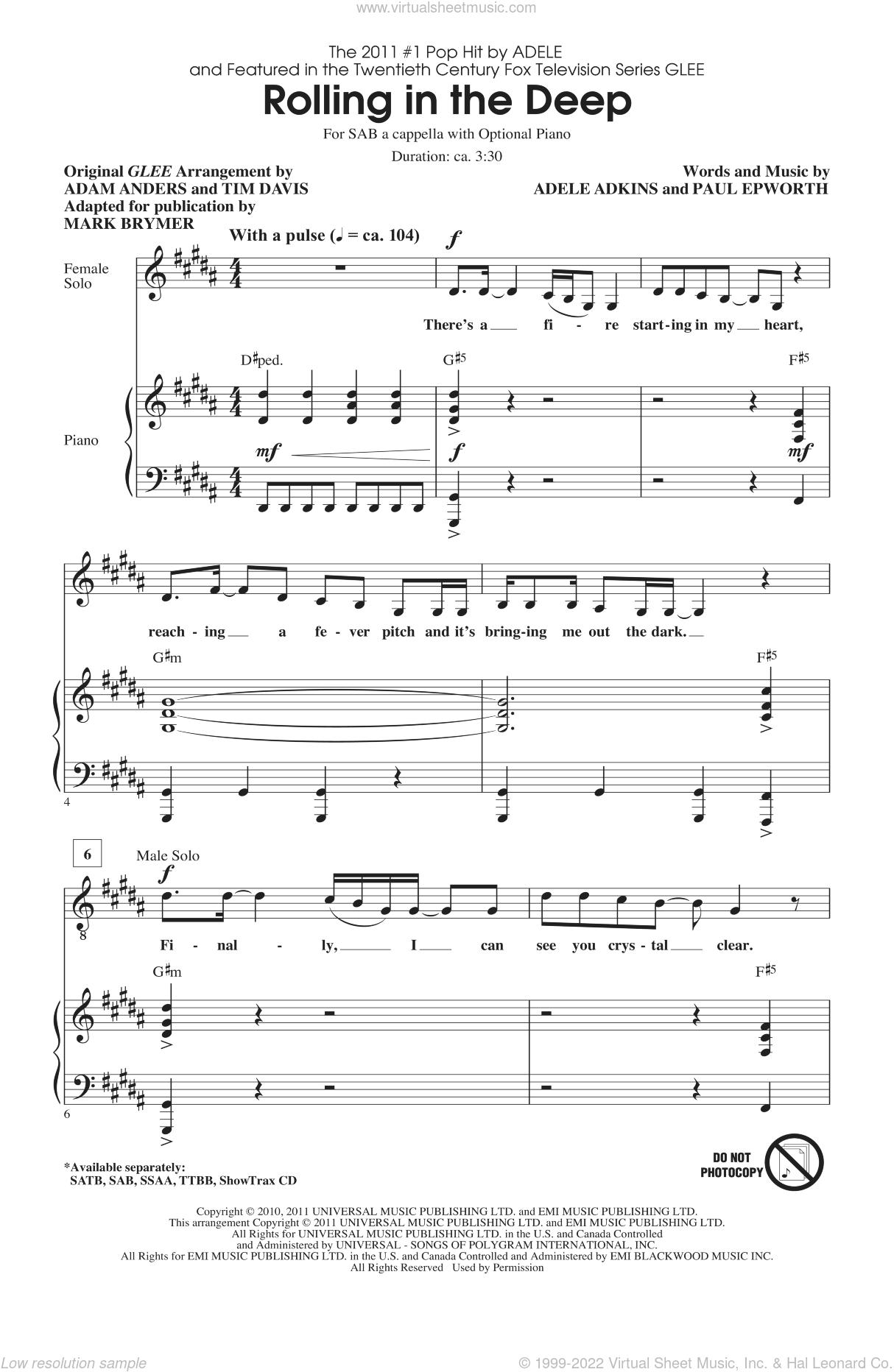 Free Satb Sheet Music