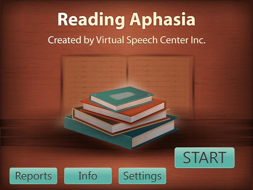 Reading Aphasia App