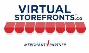 Virtual Storefronts Merchant Partner Door Badge