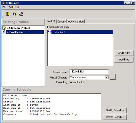 How to send #Veeam backups offsite on Windows servers