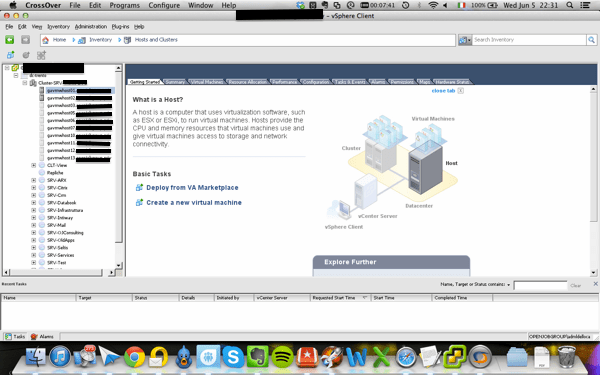 vClient on Mac