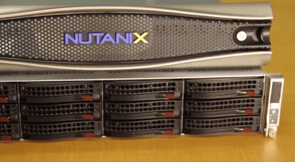 Front of the Nutanix NX-6000