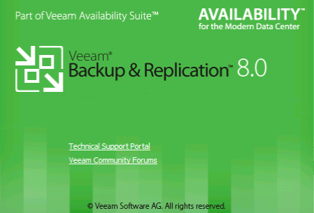 Splash veeam v8