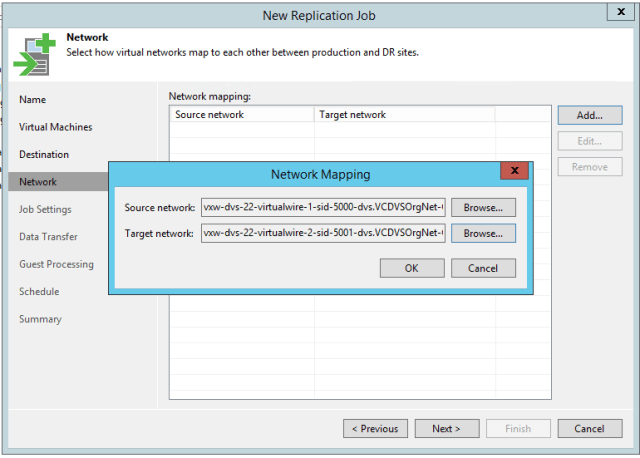 Is Veeam replication compatible with VMware NSX? - Virtual