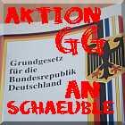 Grundgesetz an Schäuble