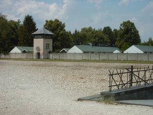 KZ Dachau, Gelände der heutigen Gedenkstätte