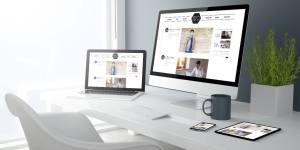 WordPres website desktops tablet en mobiele telefoon