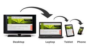 responsive website, tablet, desktop en smartphone