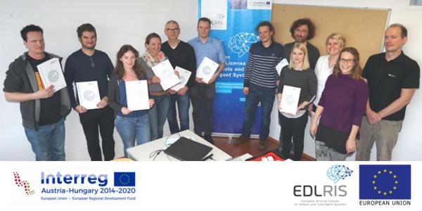 Das Projekt EDLRIS: Resümee der Pilottrainings für Trainer_innen und erste Evaluierungsergebnisse