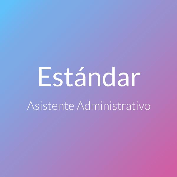 Asistente Administrativo Pack Estándar