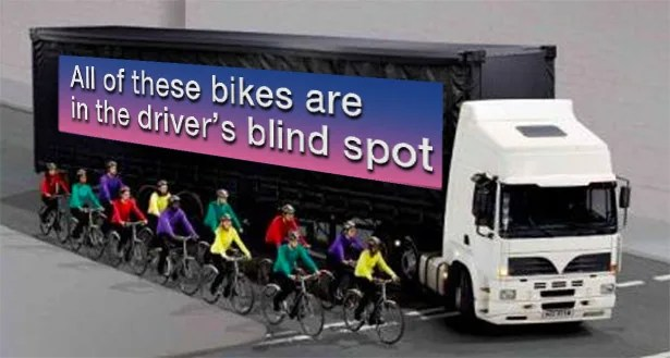 Taffic Skills Bicycle Safety around Trucks