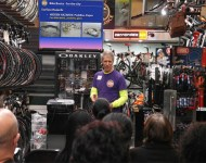 Lance Jacobs at Virtuous Bicycle seminar