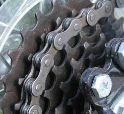 Bike Gears - Gear cluster