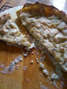 Eighth from the Italian Bread Project - Sourdough Focaccia di Recco 1