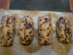 How to bake stollen