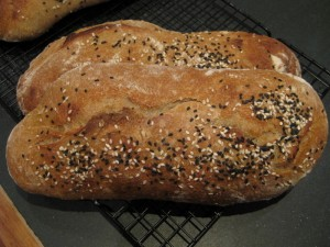 Easy recipe for millet bread