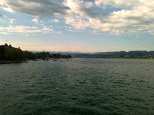 View of the zurich see