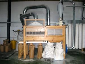 Stone milling flour